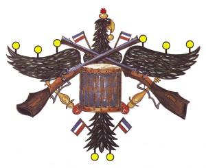 Gildeadler-Urkunde,o.Schr,-Flatter-gelb