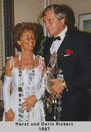 Horst und Doris Rickert - 1987