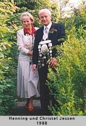 Henning und Christel Jessen - 1988