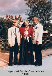 Ingo und Dorle Carstensen - 1989