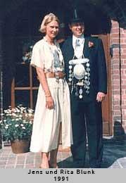 Jens und Rita Blunk - 1991