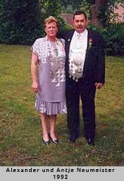 Alexander und Antje Neumeister - 1992
