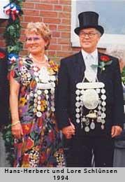 Hans-Herbert und Lore Schlünsen - 1994