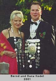 Bernd und Dana Kodel - 2001