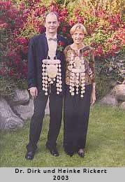 Dr. Dirk und Heinke Rickert - 2003