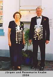 Jürgen und Rosemarie Knabe - 2004