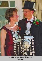 Hauke und Osa Hansen - 2005